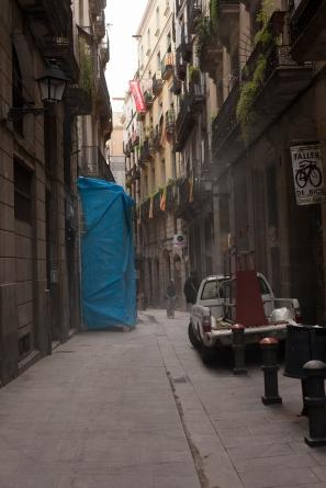 Dusty street